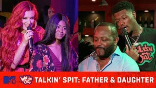 Father & Daughter Get Put In the Hot Seat 🔥 | Wild 'N Out | #TalkinSpit