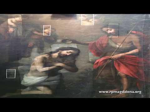 Restauración 'El bautismo de Cristo'