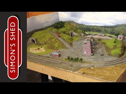 how to build an n gauge layout