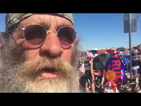 "Trump supporter at Arizona, rally: ""He's what America needs right now"""