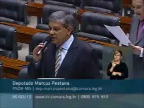 Marcus Pestana propõe sistema integrado de compras da Saúde