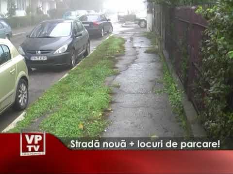 Stradă nouă + locuri de parcare!