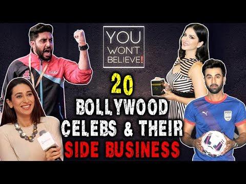 20 Bollywood Celebs & Their Side Business | Karism