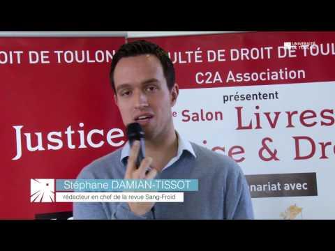 2e Salon Livres, Justice & Droit de l'Université de Toulon
