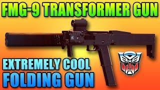 FMG-9 Folding Machine Gun - Coolest Gun In Hardline | Battlefield Hardline PDW Unlock Gameplay