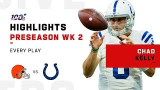 Every Chad Swag Kelly Play vs. Browns | NFL 2019 Highlights by NFL