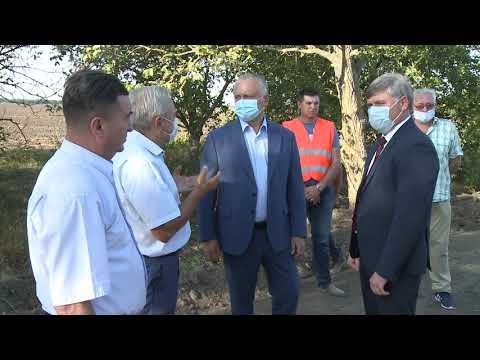 Игорь Додон проверил ремонтные работы на участке автотрассы Бессарабка – Чадыр-Лунга