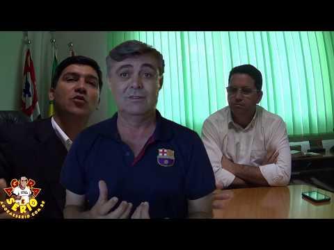 Ex Prefeito Fernandão rebate as declarações do Prefeito Arizinho e diz ;