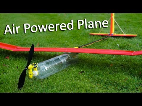Compressed Air Powered Plane