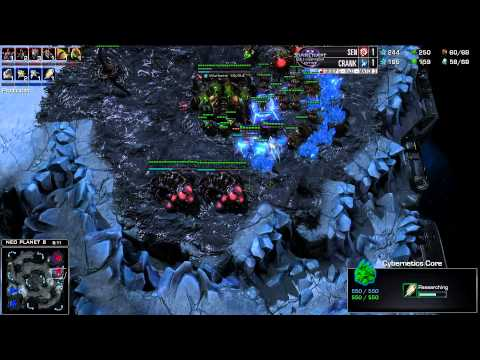 Sen vs Crank - Game 3 - WCS AM Premier Group G