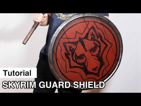 Skyrim Guard Shield - Tutorial