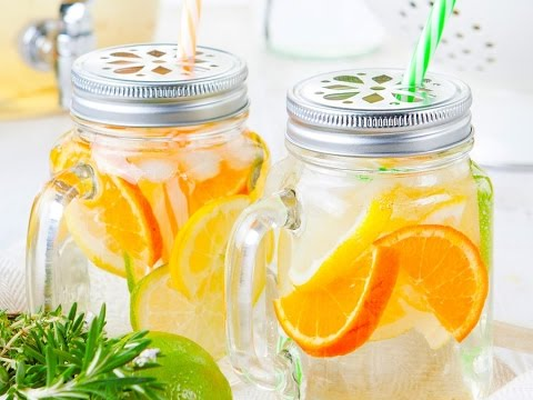 3 Healthy Fruit and Herb Infused Water Recipes