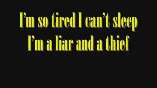 Nirvana Pennyroyal tea lyrics.