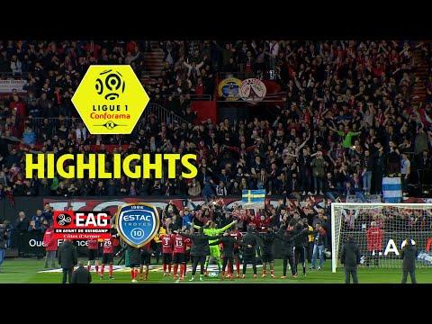 EA Guingamp - ESTAC Troyes ( 4-0 ) - Highlights - (EAG - ESTAC) / 2017-18