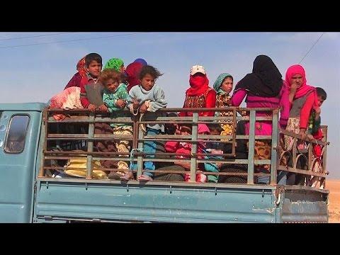 Ράκα: Αμάχους ως ανθρώπινες ασπίδες χρησιμοποιούν οι τζιχαντιστές