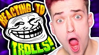 CRAINER REACTS TO SSUNDEE AND SPARKLEZ REACTS TO CRAINER TROLLS IN TROLL CRAFT #3
