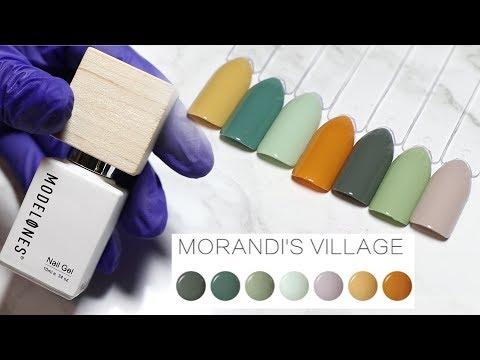 Gel nails - Modelones Morandi's Village Gel Polish SWATCHES