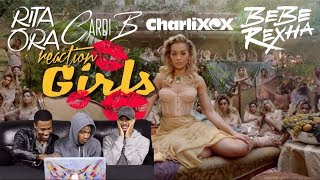 Video Rita Ora - Girls feat. Cardi B, Charli XCX & Bebe Rexha REACTION MP3, 3GP, MP4, WEBM, AVI, FLV Agustus 2018