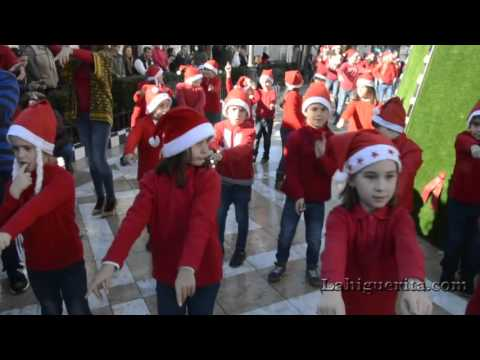 Flashmob realizado por el CEIP Ángel Pérez de Isla Cristina