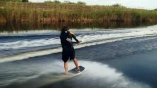 1. DO IT with Ben Horan behind the 2010 Sea-Doo WAKE PRO 215 watercraft   - Frontside Kick Flip