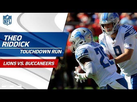 Video: Theo Riddick Caps Off Detroit's Big Drive w/ TD Blast! | Lions vs. Buccaneers | NFL Wk 14 Highlights