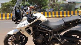 3. 2018 Tiger 800 XRx First Ride Impressions | Dropping off ST at the showroom | Ride Updates
