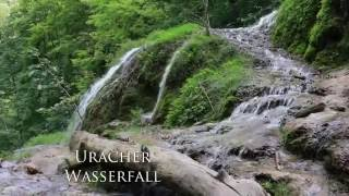 Bad Urach Germany  city images : Drohnenflug Uracher Wasserfall // droneflight Bad Urach waterfall germany