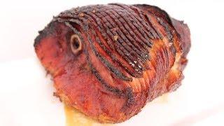Honey Glazed Ham Recipe - Laura Vitale - Laura in the Kitchen Episode 556