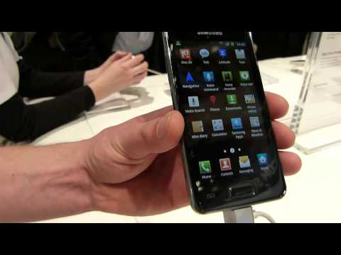 MWC 2012: Samsung Galaxy S Advance hands-on