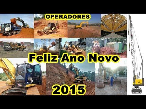 Imagens de feliz ano novo - Lembrança  aos Operadores de Máquinas Pesadas FELIZ ANO NOVO.