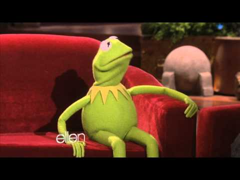 kermit - For the first time in history, Kermit the Frog was on The Ellen DeGeneres Show! Kermit told Ellen about his new