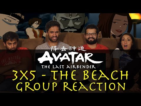 Avatar: The Last Airbender - 3x5 The Beach - Group Reaction