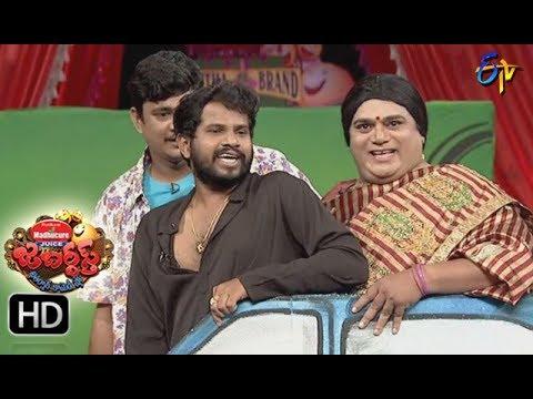 Jabardasth Telugu Comedy Show ,8th Sep 2017,Hyper Aadhi performance - ETV Telugu