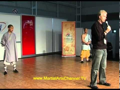 Shaolin Monks put on a full show live at the Fitness Expo Sydney with Graham Slater Martial Arts TV