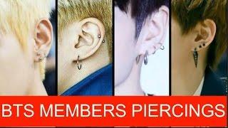 Video BTS MEMBERS PIERCINGS MP3, 3GP, MP4, WEBM, AVI, FLV Mei 2017