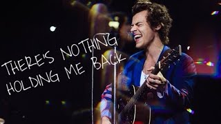 Download Lagu Harry Styles // There's Nothing Holding Me Back Mp3