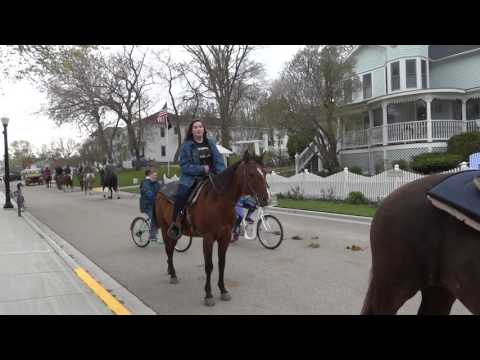 Brittany - Horse Ride on Mackinac Island 5/20/2017