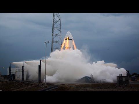 SpaceX Pad Abort Test_Best spacecraft videos ever