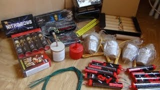 Unboxing new fireworks package (1080p)