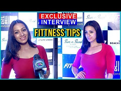 Barkha Bisht Gives FITNESS Tips |