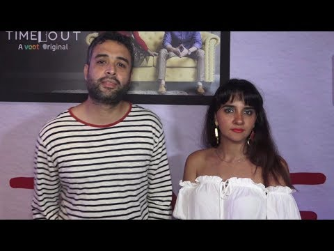 Shruti Seth & Danish Aslam At The Special Screening Of Web Series 'Time Out'