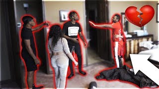 CAUGHT CHEATING IN BED PRANK WITH CARMEN FROM