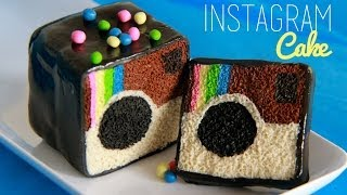 Instagram Cake - Modeling Clay Tutorial - Miniature Food - YouTube