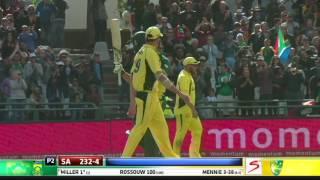 South Africa vs Australia - 5th ODI - Match  Highlights