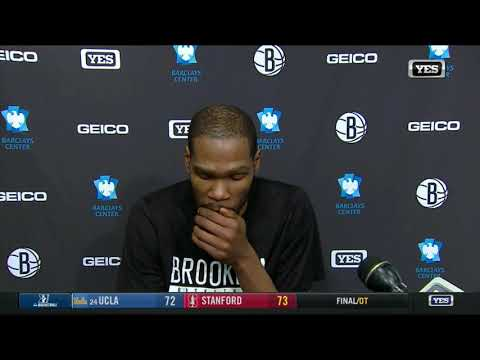 Nets Kevin Durant POSTGAME interview after brooklyn win over Miami Heat