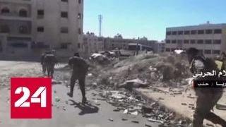 Террористы обстреляли дамасский госпиталь