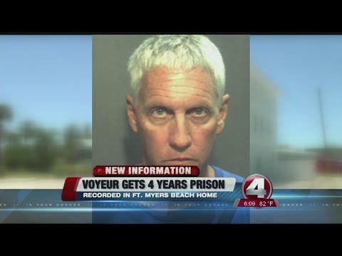 Fort Myers Beach voyeur gets 4 year prison sentence (видео)