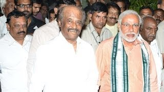 Modi meet Rajinikanth  Exclusive Visuals | Junior Vikatan