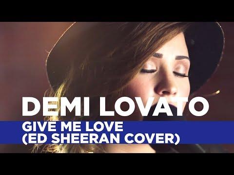 Demi Lovato - 'Give Me Love' (Ed Sheeran Cover) (Capital Live Session)