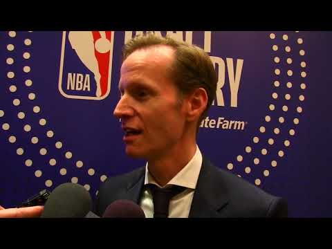 Jeff Weltman Orlando Magic NBA Draft Lottery 2018 Interview